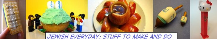 cute website:  jewish everyday - stuff to make and do