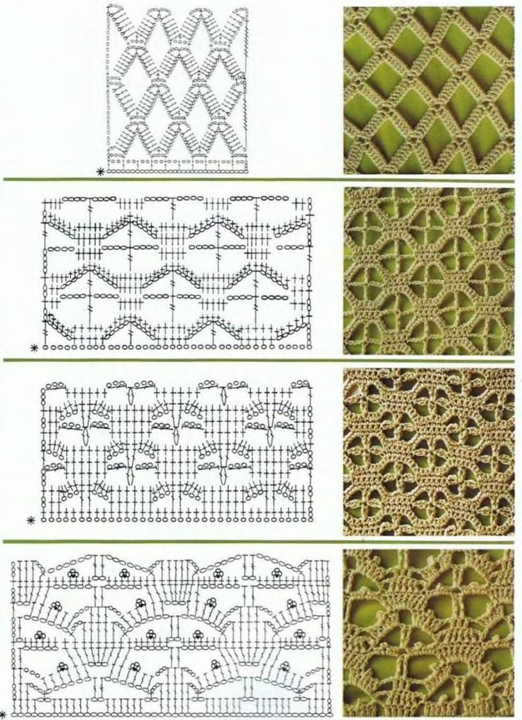 crochet stitchs passe temps Pinterest Stitches, Crochet and ...