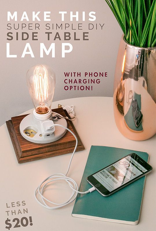 15 Must See Side Table Lamps Pins