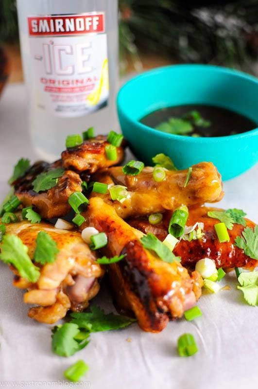 Citrus Asian Chicken Wings We love a great appetizer during the holidays as we do a lot of entertaining and we are always looking for something new we can make to share with our guests. We were approached by the folks at Sm