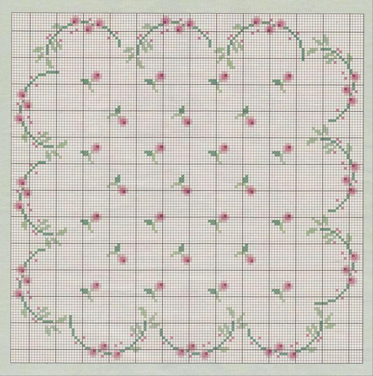 natty's cross stitch corner: spring