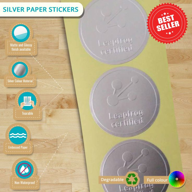 #Infographic: Introducing #SilverPaper #Stickers | Last day for Febulous Sale today! Grab now while promo lasts!