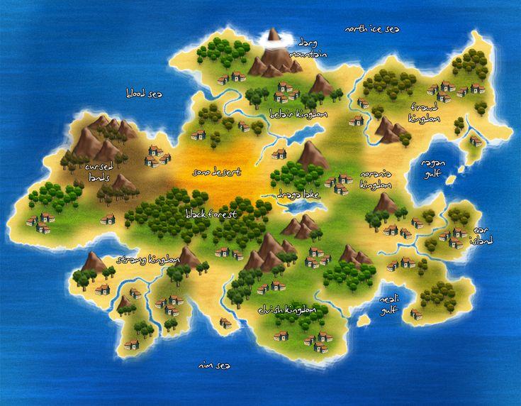 new island map by elvenjob on deviantart misland pinterest