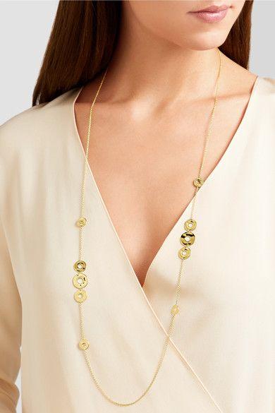 Ippolita - Senso® Station 18-karat Gold Necklace - one size