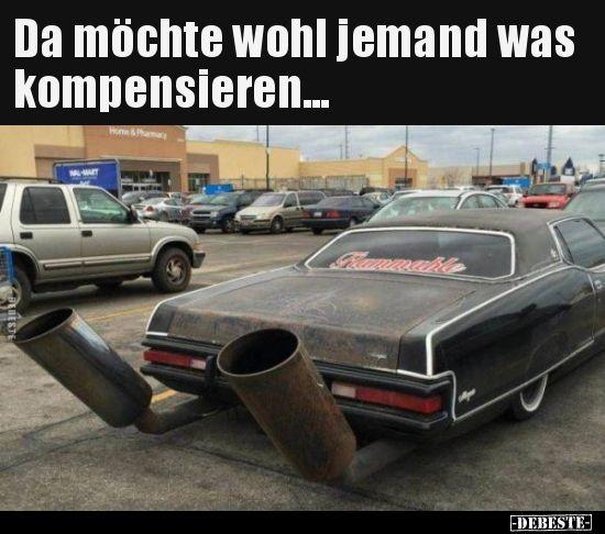 Jemand möchte etwas kompensieren … – lustiges – #compensate #Lustiges   – Motorcycle