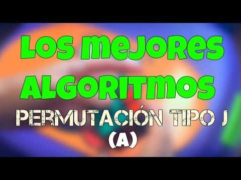 ¡Los mejores algoritmos! - Permutación tipo J(a) | Ar Speedcuber