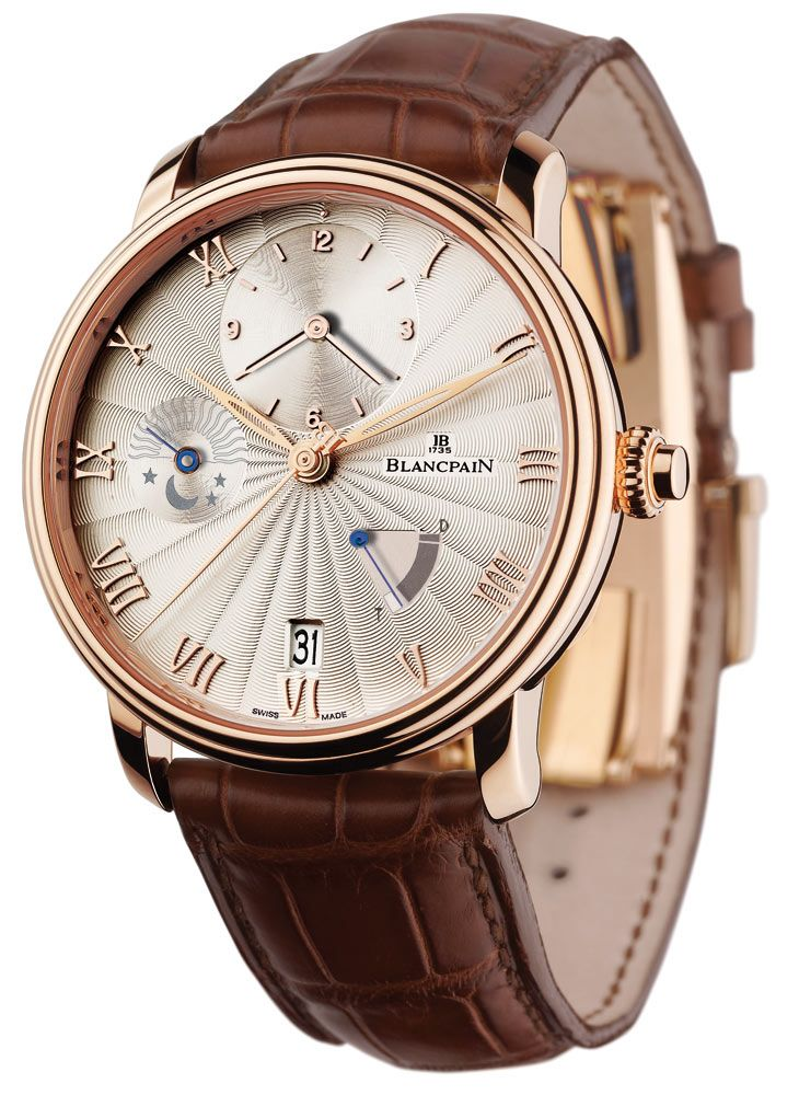 Blancpain Villeret Medio Huso Horario | Raddest Men's Fashion Looks On The Internet: http://www.raddestlooks.org