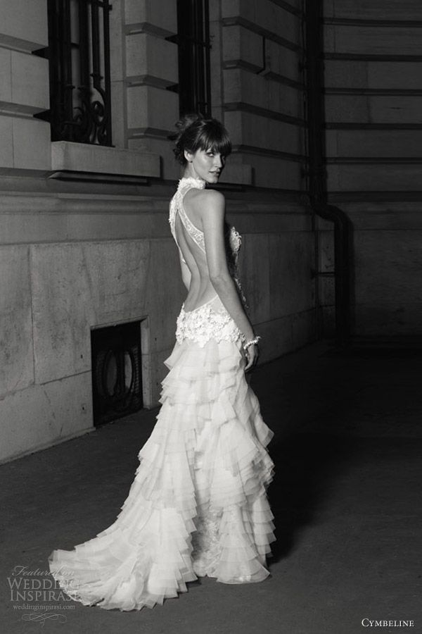 cymbeline wedding dress 2013 gaya open back