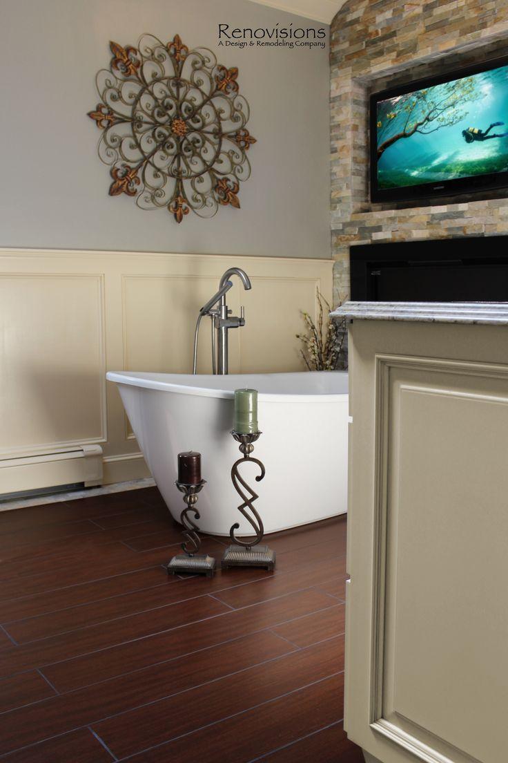 Best Bathroom Renovisions Images On Pinterest Porcelain Tile