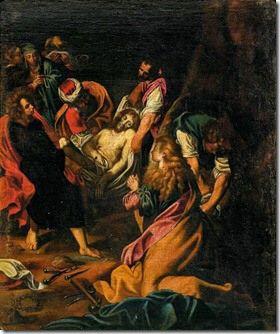 El entierro de Cristo  1580 Federico Barocci