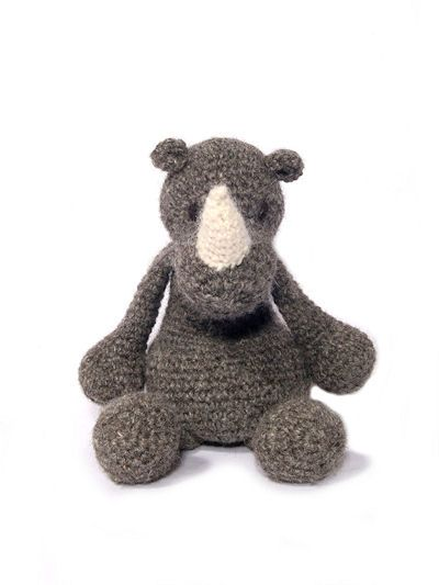 Crochet Animal Patterns: Amigurumi toy animal designs.