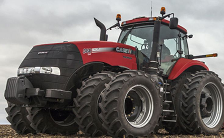 CASE IH MAGNUM CVX 380. Tractor of the Year 2015!