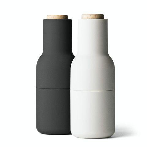 Norm Bottle Grinder Set in Ash + Carbon | LET LIV