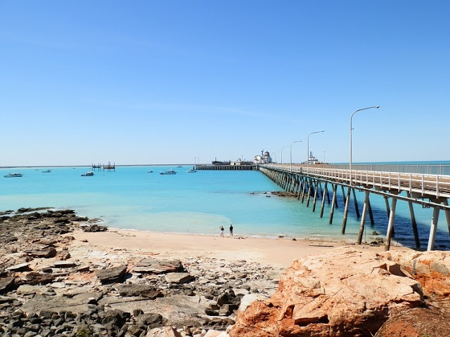 Low Tide at Port Jetty, Broome, Western #Australia
