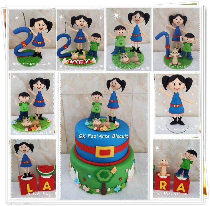 O Show da Luna Biscuit  Topo de bolo Luna #Biscuit #FestaLuna  ORÇAMENTO: KEGG@BOL.COM.BR