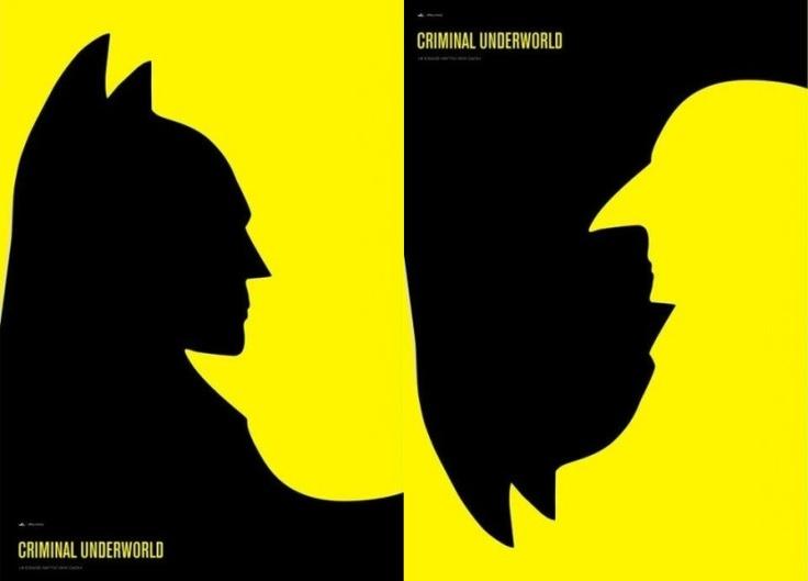 Batman & Penguin... Face to Face