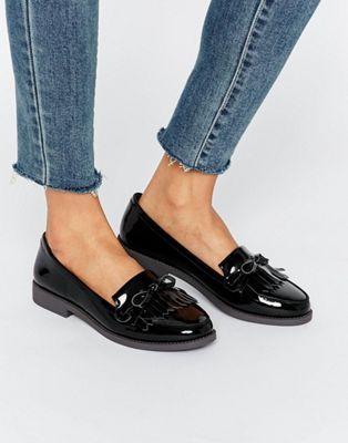 Sebago Claremont Brogue Black, Schuhe, Flache Schuhe, Elegante Schuhe, Schwarz, Female, 36