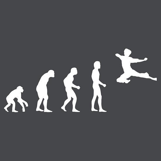 Evolution of Bruce Lee http://www.redbubble.com/people/truetoform/works/6468363-evo-lee-tion-of-bruce