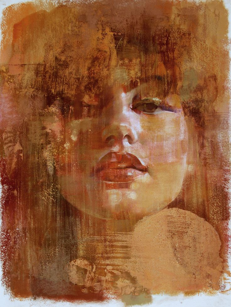 ORIGINAL ARTWORK. PASTEL ON PAPER. Unframed. Made in USA by Yuriy Ibragimov