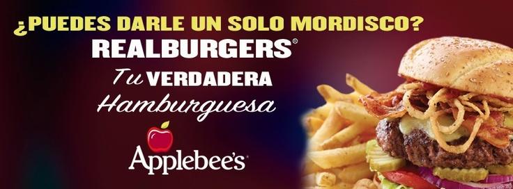 Se extiende la promoción de las Realburgers!! :D  Ven por la tuya a sólo $4990.-