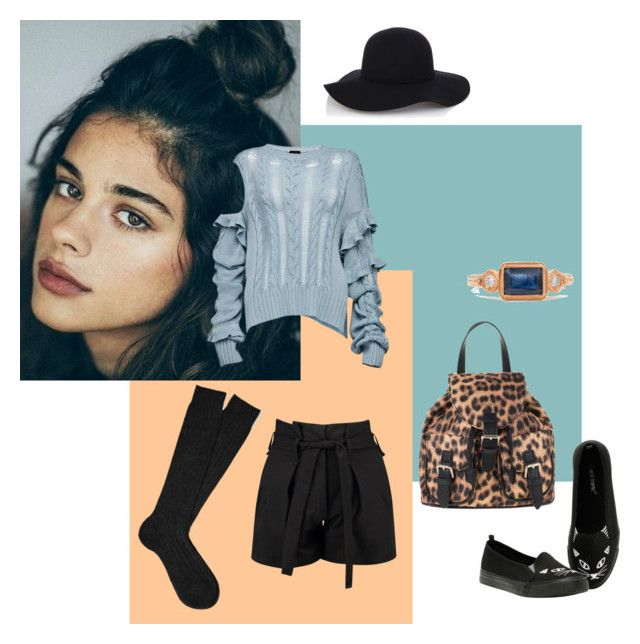 Bluish by gabri-ella on Polyvore featuring Magda Butrym, Boohoo and Warehouse