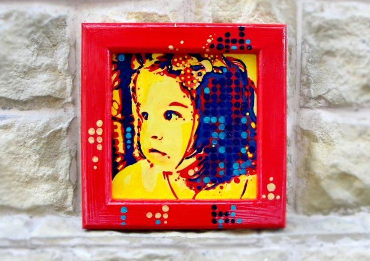 "Pop Art Portrait ""Sofia"""