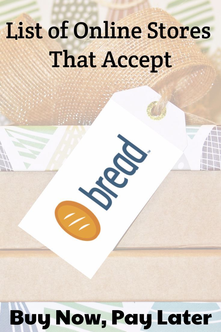Online Stores That Accept Bread For Payment The Edit Magazine