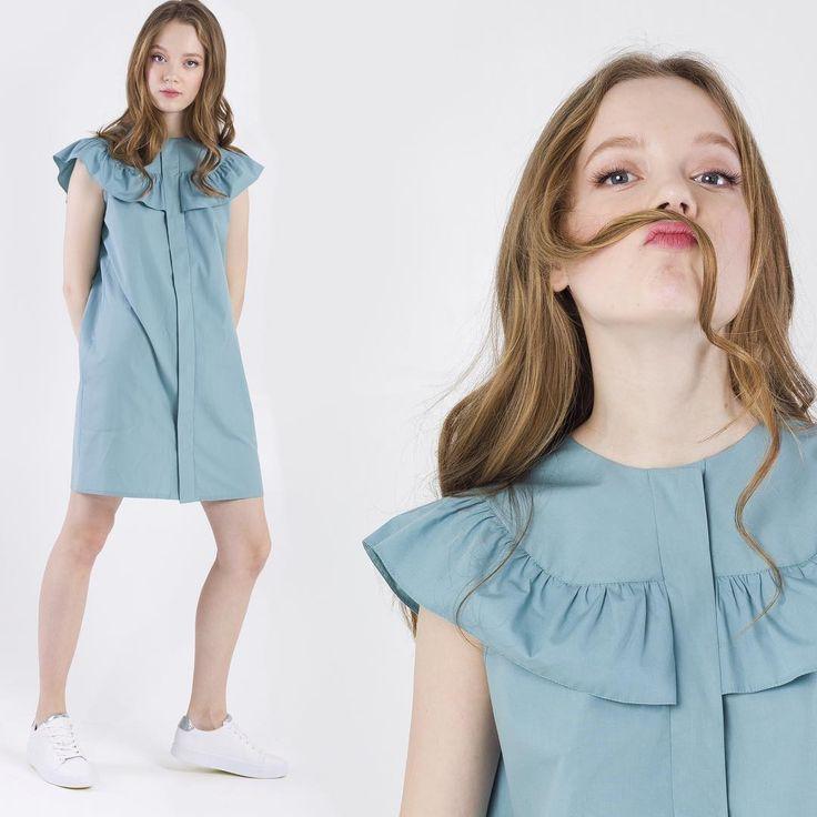 """☝🏼НИ-ЧЕ-ГО! Ничего не должно мешать тебе наслаждаться этим летом, даже если +33!☀️Легкие, свободные, естественные - именно такими должны быть твои мысли... и платья!  Удобные модели MARSEE'S из натурального хлопка в наличии🙌🏼  Платье с рюшей мятного или лимонного цвета - 1199 грн😉  📍MARSEE'S: Киев, ТРЦ """"Проспект"""", Dream Town, Lavina Mall🛍  #summer2017 #marsees #shopping #мятноеплатье"""