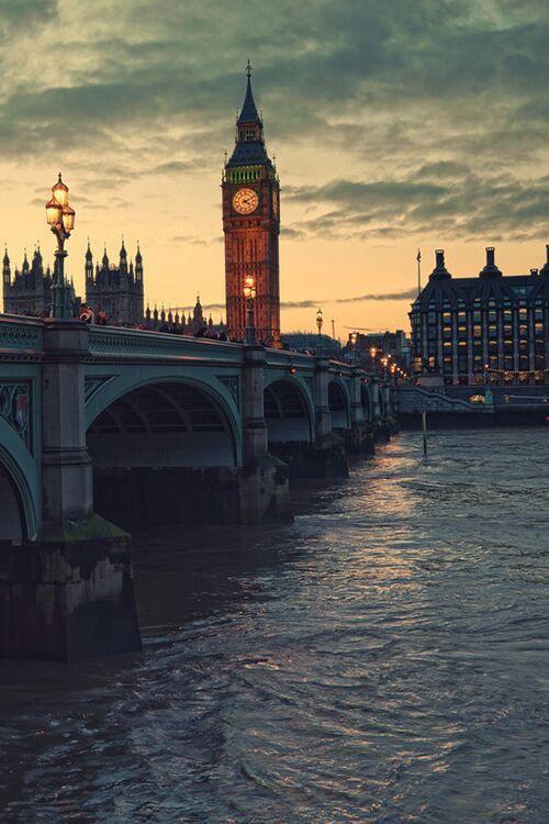 River and Big Ben