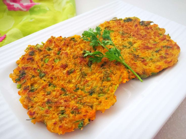 Carrots and Coriander Fritters are a healthy way of including carrots into the diet. Usually fritters are fried in oil however we have adapted the healthy method of pan searing them over the skillet with minimal oil. Also chickpea flour is added to bind the ingredients together and also to make you feel fuller.  Did you know- Carrots are a storehouse of Vitamin C and beta carotene making it perfect to boost the immune system and giving us a healthy heart and skin.  Serve the Carrots and…