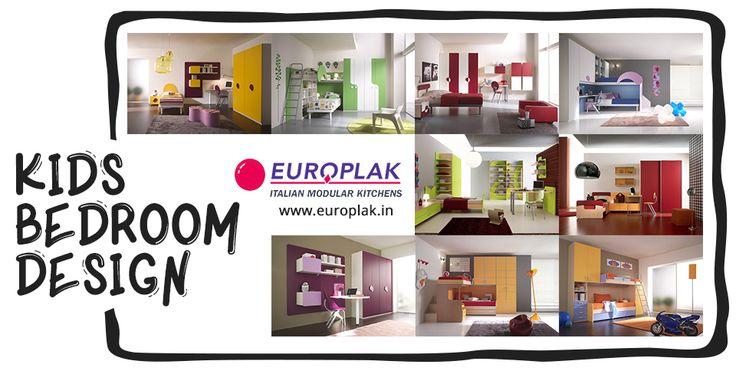 #Kids #Bedroom #Design For more details Visit : http://www.europlak.in/