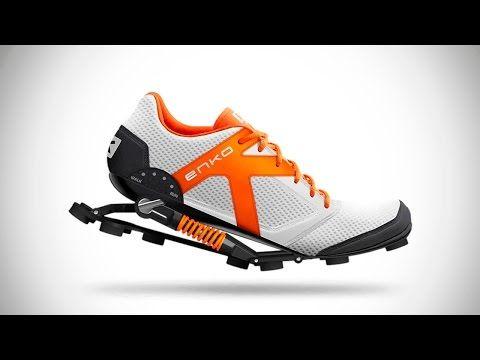 10 ГЕНИАЛЬНЫХ изобретений, обувь и кроссовки будущего для ходьбы, спорта, фитнеса Новые технологии - YouTube
