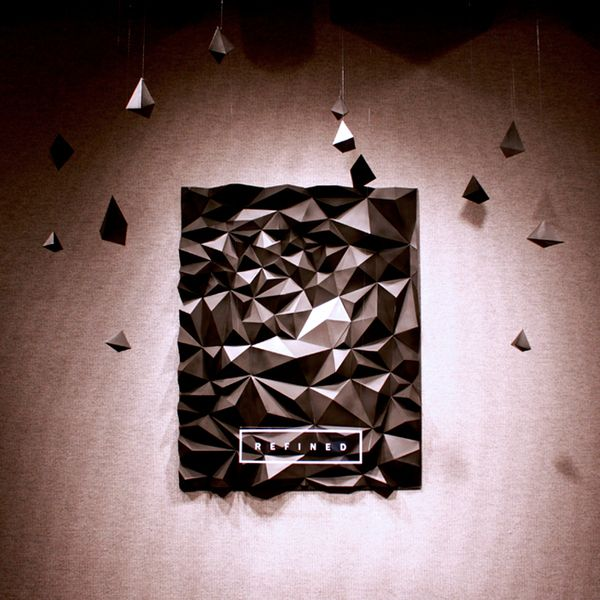 REFINED Exhibition by Cassie Stegman, via Behance