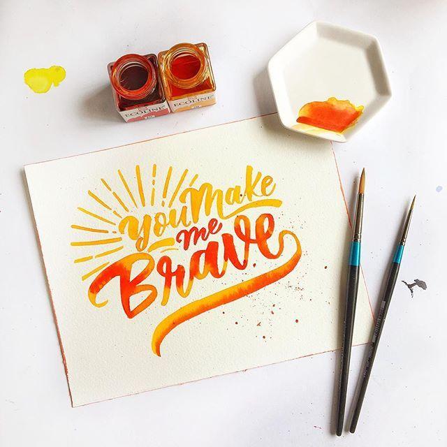 Really feeling the orange today!  . . . . #calligraphyworkshop #brushcalligraphy #workshopssg #brushcalligraphysg #brushcalligraphy #flourishforum #moderncalligraphy #goodtype #learncalligraphy #slowroastedco #workshopsg #sgworkshop #StrengthinLetters #calligraphysg #handlettered #letteringonsunday #brushtype #typegang #idealinspiration #50words #sgig #sgworkshops #ligaturecollective #typespire  #designspiration #calligrabasics #brushlettering #naiisetuesdays #ohwowyes #ecoline