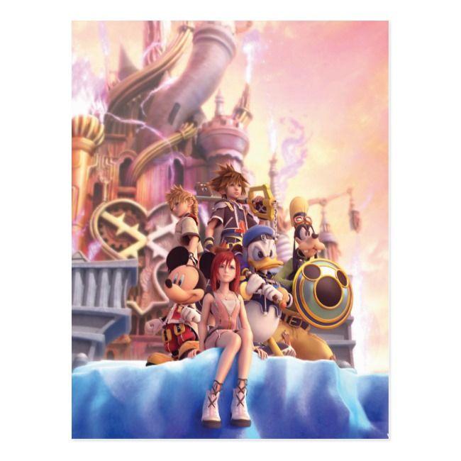 Create Your Own Postcard Zazzle Com Kingdom Hearts Ii Kingdom Hearts Kingdom Hearts Hd