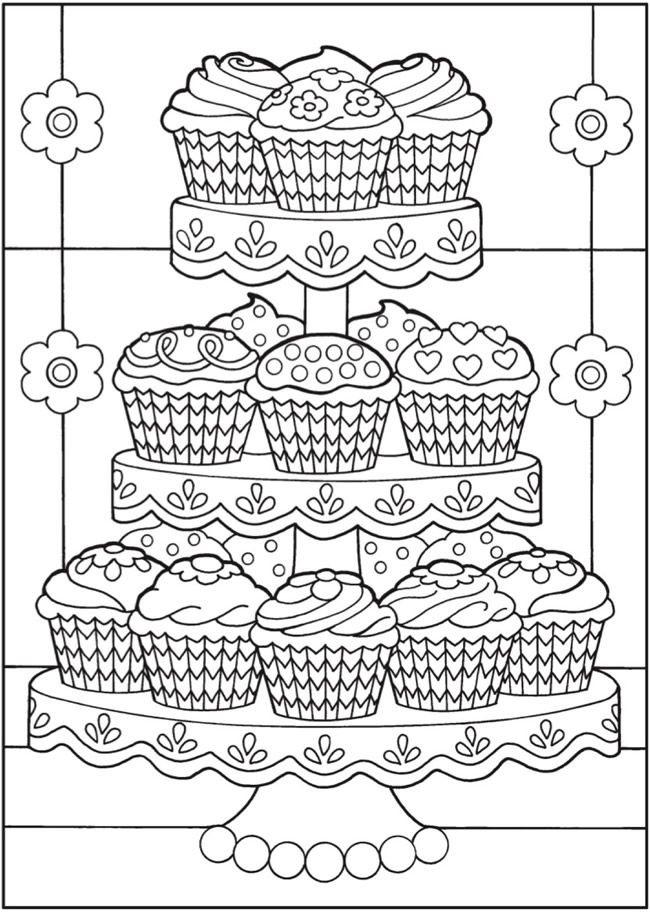 cupcakes to color