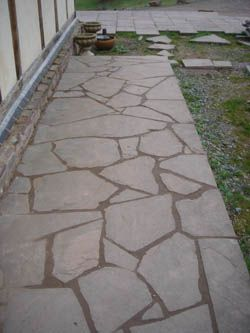 crazy paving - for the BBQ?