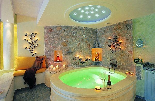 Astarte Suites: in Santorini, GreeceRomantic Bathroom, Dreams House, Dreams Bathroom, Bathroom Ideas, Honeymoons, Hot Tubs, Santorini, Astarte Suits, Hotels
