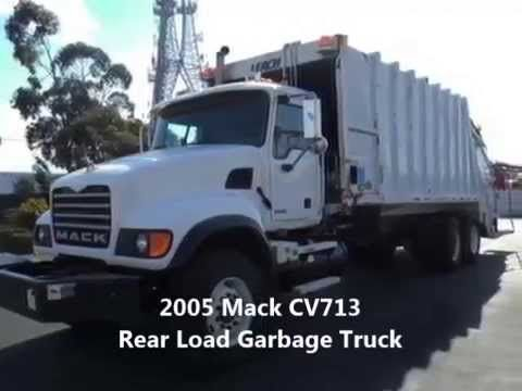 2005 Mack CV713 Rear Load Garbage for sale at EquipmentReady, Price: $99,900.00  On-line marketplace for used commercial trucks, trailers and heavy equipment. http://equipmentready.com/sale/trucks #truck