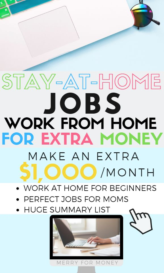 Working From Home For Beginners Summary List Of Stay At Home Job