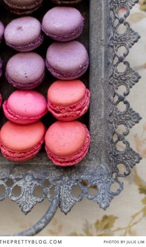 Macaroons are the perfect sweet choice for a kitchen tea