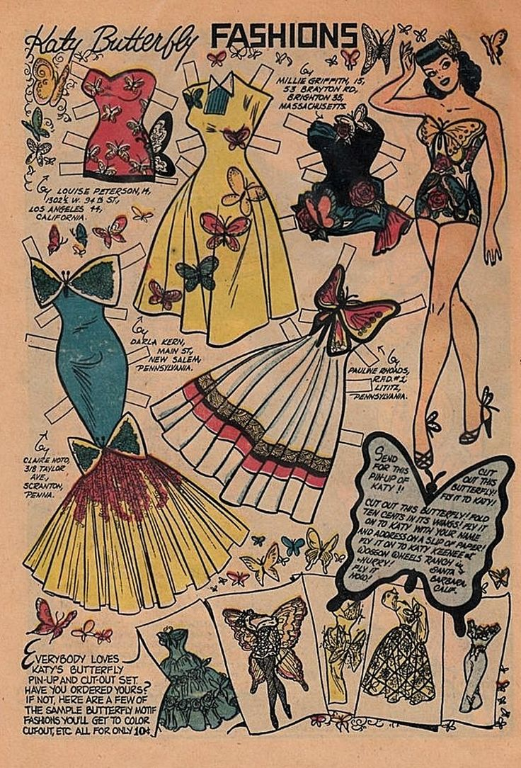 Best Paper Dolls Images On   Paper Dolls Vintage