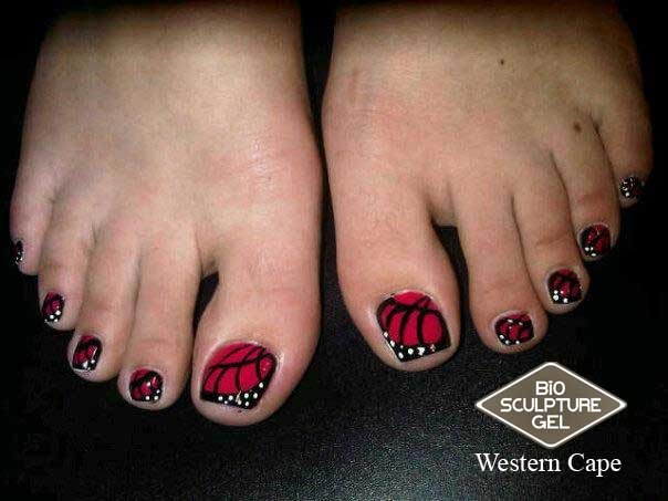 Bio Sculpture Butterfly toes