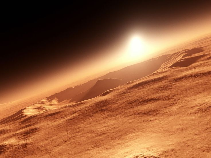 Mars ice caps | Mars, Facts and Information about Planet Mars | Strawberries Out of ...