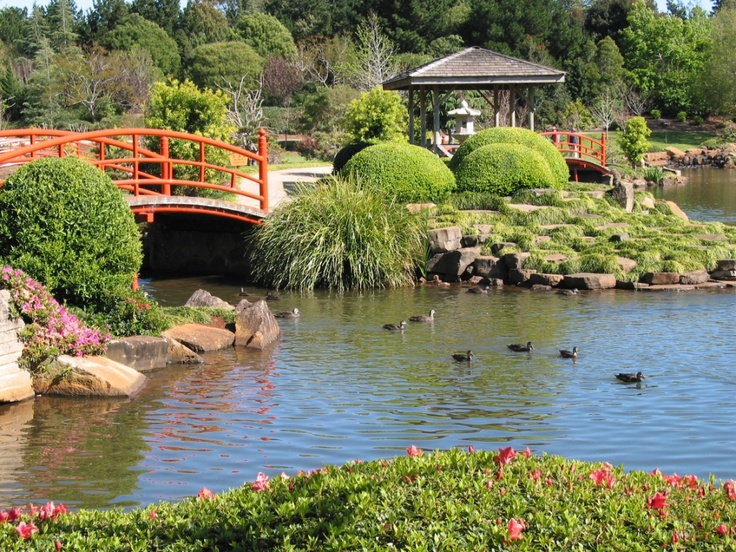 Visit the Japanese Gardens at the University of Southern Queensland while you are in town for the Toowoomba Carnival of Flowers