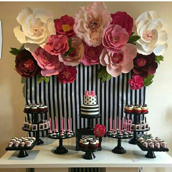 flor fiestas ideas para flower parties