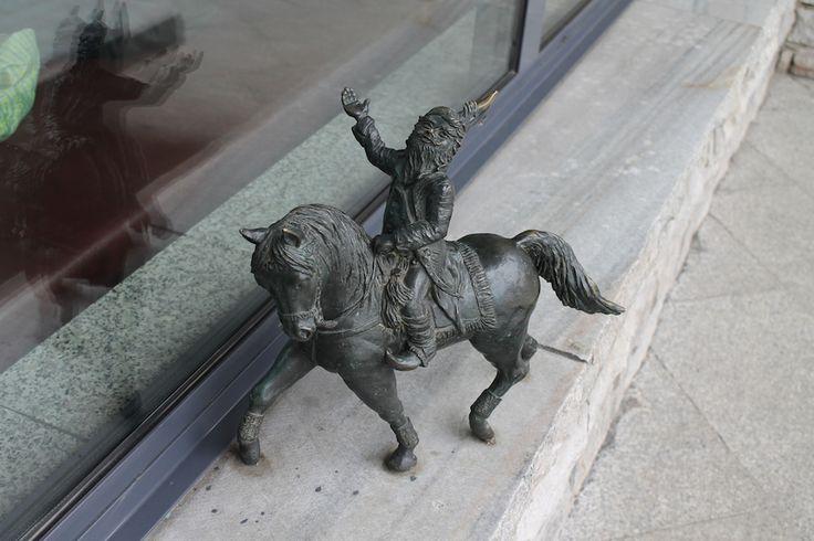 Rzeźby Krasnali we Wrocławiu - Zwergenskulpturen in Breslau