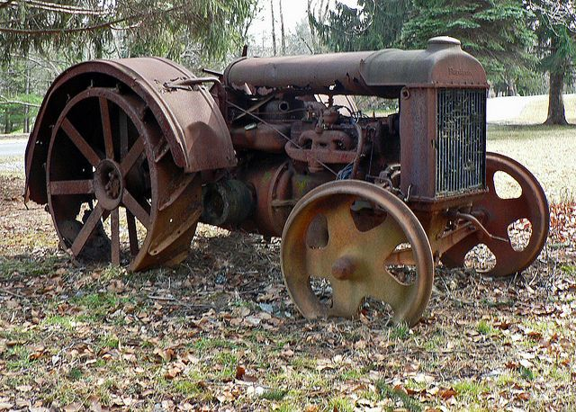 Fordson Tractor - Photo by dlberek.