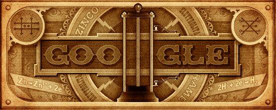 Una pila per omaggiare Alessandro Volta nel giorno del 270esimo  anniversario dalla nascita (Como, 18 febbraio 1745 – Como, 5 marzo  1827). E' la scelta di Google per ricordare il fisico italiano, famoso  principalmente per l'invenzione del primo generatore elettrico - la  pila, antenata delle