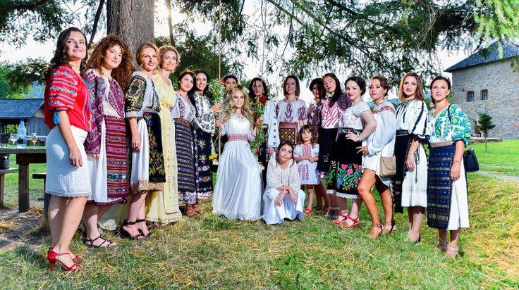 Wedding traditions romanian Elena și Tudor (Muzeul Satului Bujoreni - Valcea)